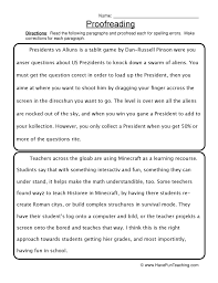 editing and proofreading worksheets free worksheets library