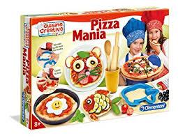 jeux fr cuisine pizza clementoni 62773 pizza mania jeu créatif amazon fr jeux et jouets