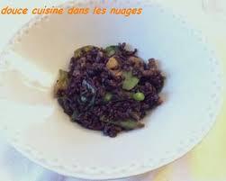 douce cuisine riz venere pois gourmands et shiitaké douce cuisine dans les nuages