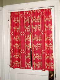 Kitchen Door Curtain by Cute Kitchen Curtains Home Design Ideas And Pictures