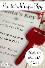 santa key santa s magic key with free printable poem happy hooligans