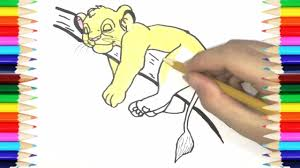 kiara the lion king drawing and coloring pages kiara drawing