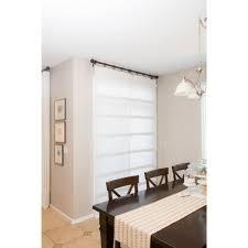 Curtain Shade White Sliding Glass Door Curtain Shade Designs Co
