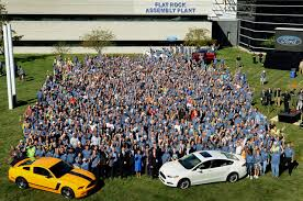 mustangs the rock ford completely takes flat rock assembly plant will build