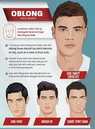 best haircuts for rectangular faces on trend men s haircuts for 2018 tlm