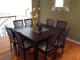 Square Dining Room Tables For 8 Dining Table 8 Chairs Set Dining Table Set For 8 S S Dining Table