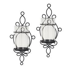 Candle Holder Wall Sconces Better Homes And Gardens Wall Sconce Pillar Candle Holders 2