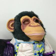 King Kong Halloween Costume 1 Pc Diamond Big Ears Monkey Mask Gorilla Costumes Movie Monkey
