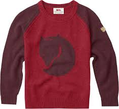 maroon sweater kid s fox sweater fjallraven