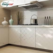 Online Get Cheap Wallpaper Kitchen Cabinets Aliexpresscom - Kitchen cabinet wallpaper
