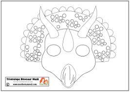printable dinosaur masks kids rawr mother natured