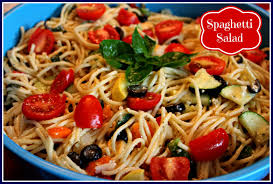 Simple Pasta Salad Recipe Sweet Tea And Cornbread Spaghetti Salad