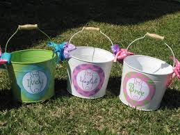 personalized easter buckets the 25 best personalized easter baskets ideas on