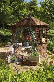 Summer Houses For Garden - buy natural willow gazebo from the next uk online shop garden