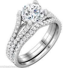 wedding rings with images White gold wedding rings ebay JPG