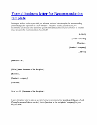 Volunteer Letter Of Recommendation Template by Template For Letter Thebridgesummit Co