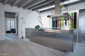 cuisine industrielle inox cuisine en inox élégant cuisine industrielle design bleu gris et