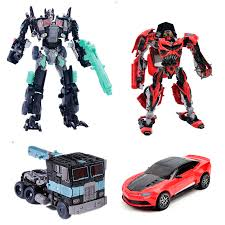 new 2015 edition genuine alloy transformation robot model movie 4