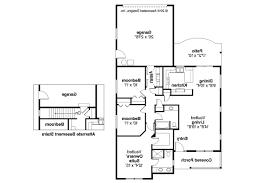 narrow lot house plans with rear garage narrow house plans rear entry garage craftsman side lot floor