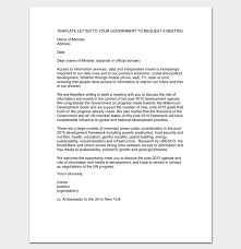 meeting appointment letter 9 templates for word pdf format