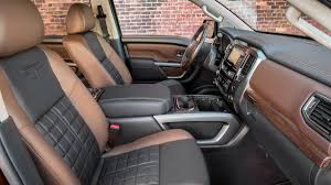 nissan titan camper interior 2017 nissan titan crew cab pickup truck review price horsepower