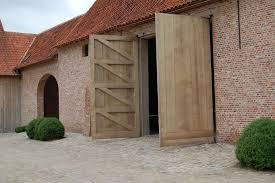 garage doors barn style contemporary oak barn doors stuyts realisaties exteriors