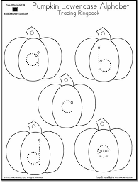 Free Alphabet Tracing Worksheets Pumpkin Lowercase And Uppercase Tracing Alphabet A To Z Teacher