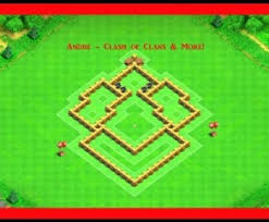 coc village layout level 5 clash of clans best town hall 5 trophy base design layout defense