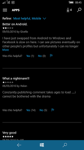 Resuming Windows Windows Phone 10 Facebook App Crashing The Giffgaff Community