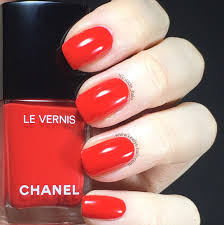 swatch chanel rouge red 546 spring 2017 keely u0027s nails
