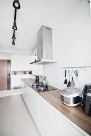 Living And Kitchen Design by Butterpaperstudio Reno Buangkok 4 Room Bto Final Photos Of