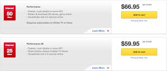 comcast home internet plans are comcast s double play internet plus tv packages a good deal
