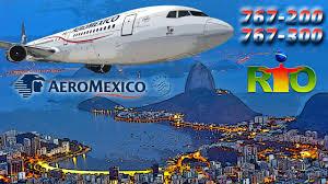 Press Advertising Aeromexico Multi Format Aeromexico Cockpit Boeing 767 To