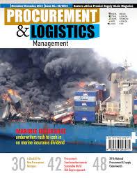 procurement and logistics management magazine by procurement