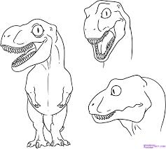 easy to draw dinosaur shimosoku biz