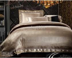 best king size sheets luxury jacquard silk cotton bedding set queen king size 4 6pcs satin