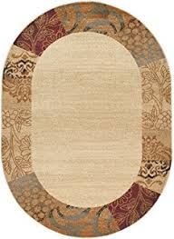 Oval Area Rugs Augusta Contemporary Geometric Multi Color Oval Area