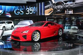 lexus lfa v10 560 ch twelve reason to visit the 2012 detroit auto show automotive
