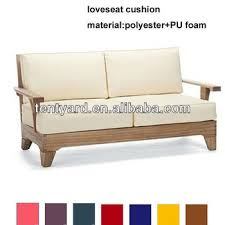 outdoor wooden sofa seat cushion buy outdoor wooden sofa seat