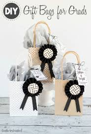 gift for graduation diy graduation gift bags tutorial consumer crafts