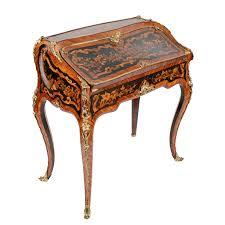 bureau style louis xv louis xv style marquetry bureau en pente c 1860 united kingdom