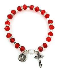 birthstone rosary july birthstone rosary bracelet br13c