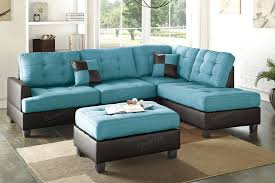 Turquoise Leather Sofa Turquoise Sectional Remarkable Leather Sofa About Remodel In