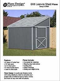 How To Build A Lean To Shed Plans by How To Build A Storage Shed Lean To Style Shed Plans 6 U0027 X 12