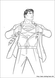 superman coloring picture super party patterns