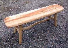 Sister Company Of Bench Hand Forged Bench Table Stand With Cedar Top Made By Our Sister