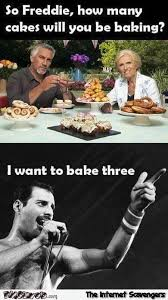 Freddie Mercury Meme - how many caked will you be baking freddie mercury funny meme pmslweb