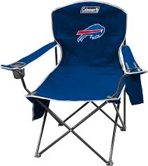 Coleman Reclining Camp Chair Coleman Buffalo Bills Quad Chair With Cooler U0027s Sporting Goods