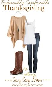fashionably comfortable thanksgiving by thelifeoftheparty on