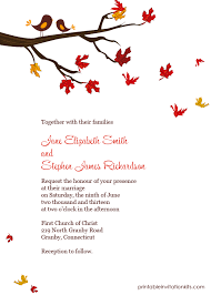 cheap fall wedding invitations fall wedding invites template best template collection